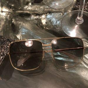 Celine Gold Sunglasses